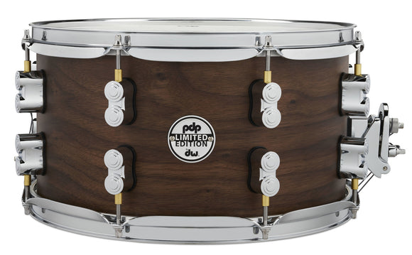 PDP LTD Maple Walnut Snare - Natural Satin