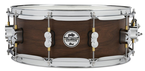 PDP LTD Maple/Walnut Snare, Natural Satin, 5.5x14 PDSN5514MWNS