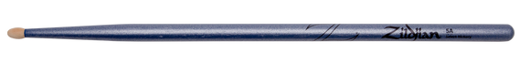 Zildjian Drumsticks 5A Chroma Blue (Metallic Paint)