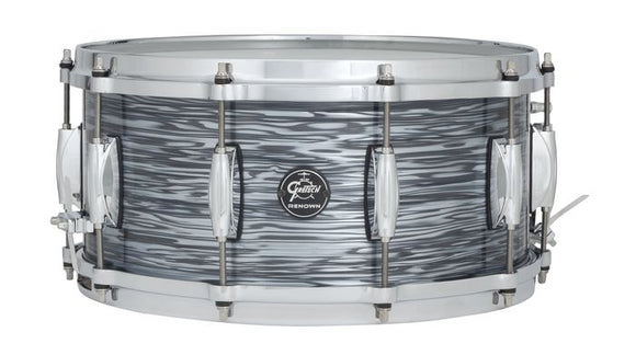 Gretsch Renown 2 Series Snare Drum 6.5x14 Silver Oyster Pearl