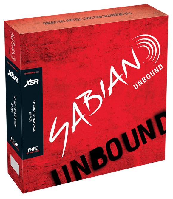 SABIAN XSR Performance Set w/Free 18