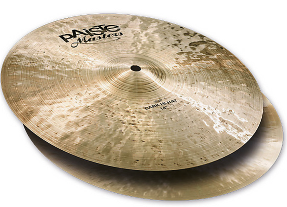 Paiste Masters Collection Dark Hi Hat Top 14