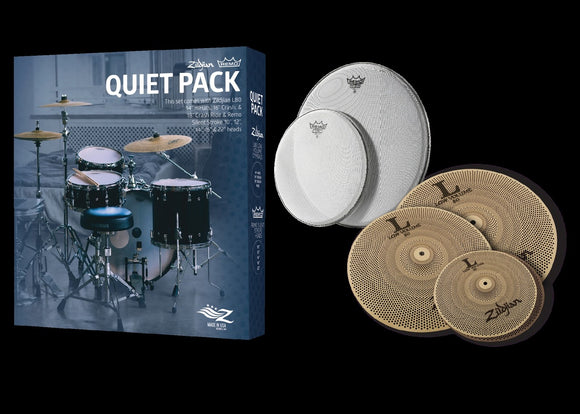 Zildjian Remo Quiet Pack L80 Low Volume Pack