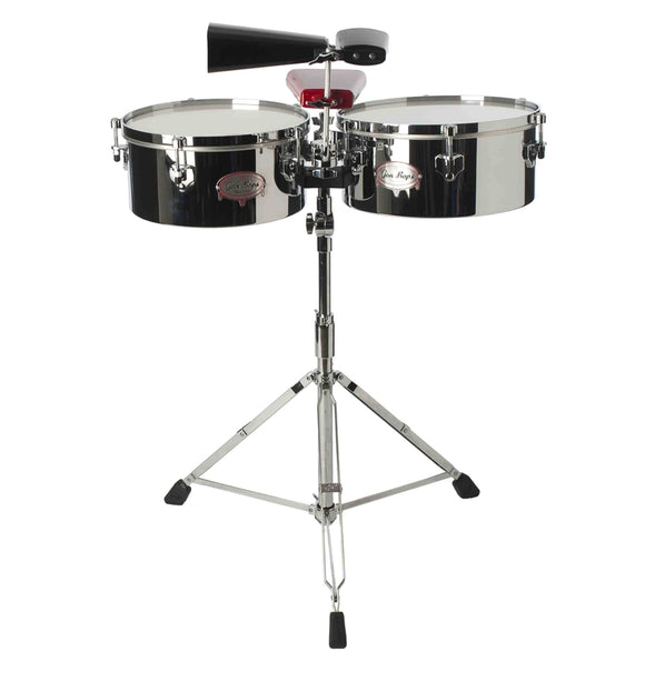 Gon Bops Tumbao Series Timbales Chrome/Steel 14