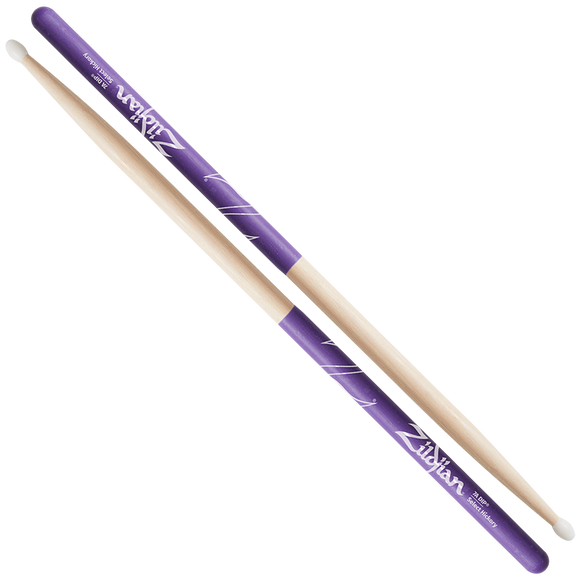 ZILDJIAN 7A NYLON PURPLE DIP Hickory