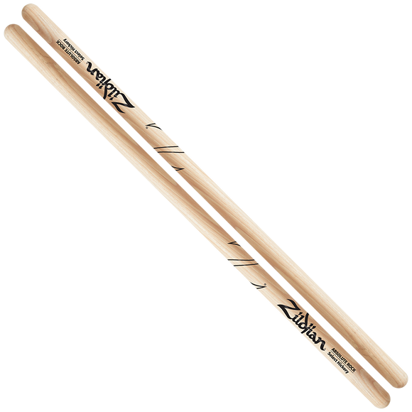 ZILDJIAN ABSOLUTE ROCK - NATURAL DRUMSTICK Hickory