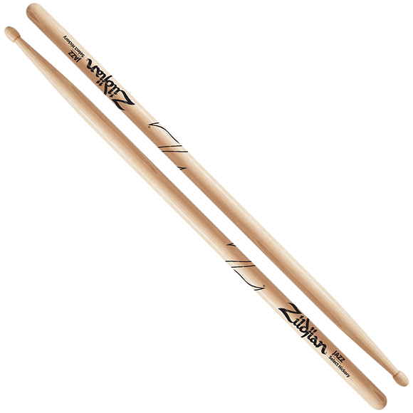 ZILDJIAN JAZZ WOOD - NATURAL DRUMSTICK Hickory