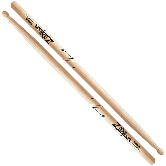 ZILDJIAN SUPER 5B WOOD - NATURAL DRUMSTICK Hickory