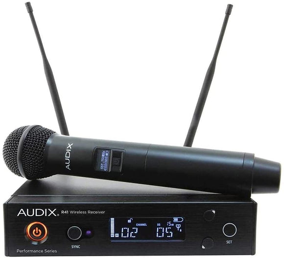 Audix AP41 OM5 Handheld Wireless System 518-554 MHz (AP41OM5A)