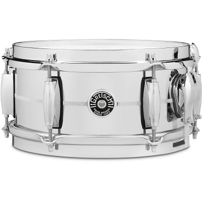 Gretsch 10x5 Brooklyn Chrome Over Steel Snare Drum