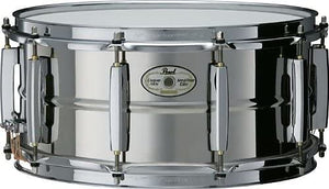 "Pearl 14"" x 6.5"" Sensitone Elite Beaded Stainless Steel Snare"