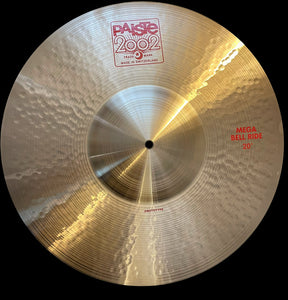 "Paiste 2002 Mega Bell Ride 20"" Prototype Custom"
