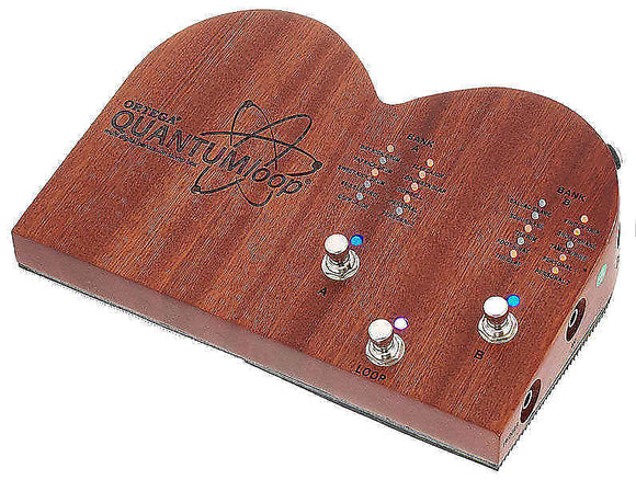 Ortega Guitars Stomp Box Effect Series Digital Multi Percussion Stomp Box & Looper