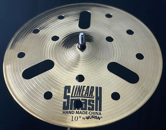 Wuhan Linear Smash Splash Cymbal 10