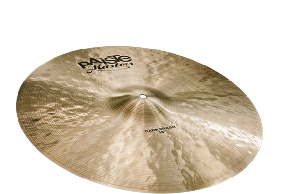 Paiste Masters Collection Dark Crash 18