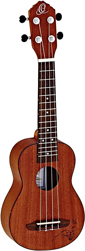Ortega Guitars Bonfire Series, 4-String Ukulele