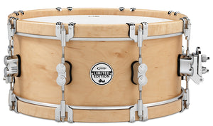 "Pacific Drums 6"" X 14"" PDP LTD Classic Wood Hoop Snare W/ Claw Hooks"