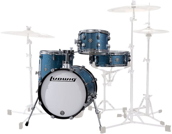 Ludwig Breakbeats By Questlove 4-piece Shell Pack with Snare Drum