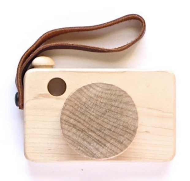 Say Cheese Wooden Camera