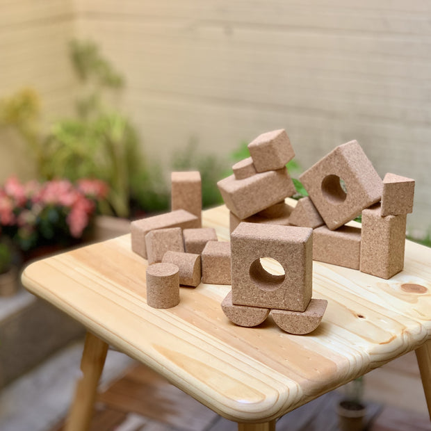 Cork Playing Blocks