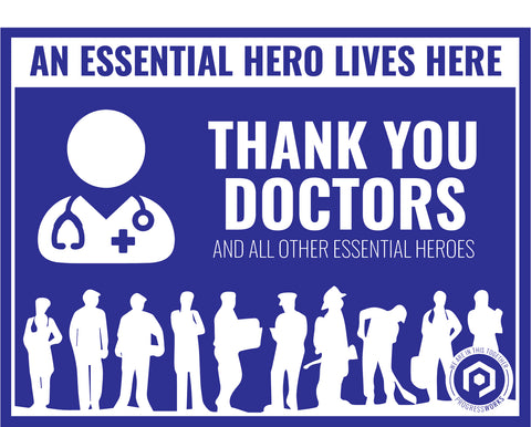 Essential Hero Customizable Sign