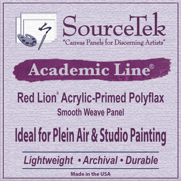 "Red Lion® Polyflax Synthetic Acrylic Primed - 1/8"" Hardboard"