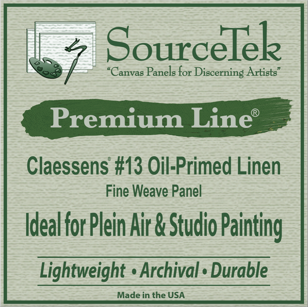 "Special - ""Goliath"" Triple Wet Panel Carrier +  Oil Primed Linen Canvas Panels (10)"