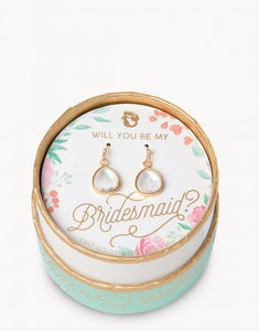 Drop Earrings Bridesmaid