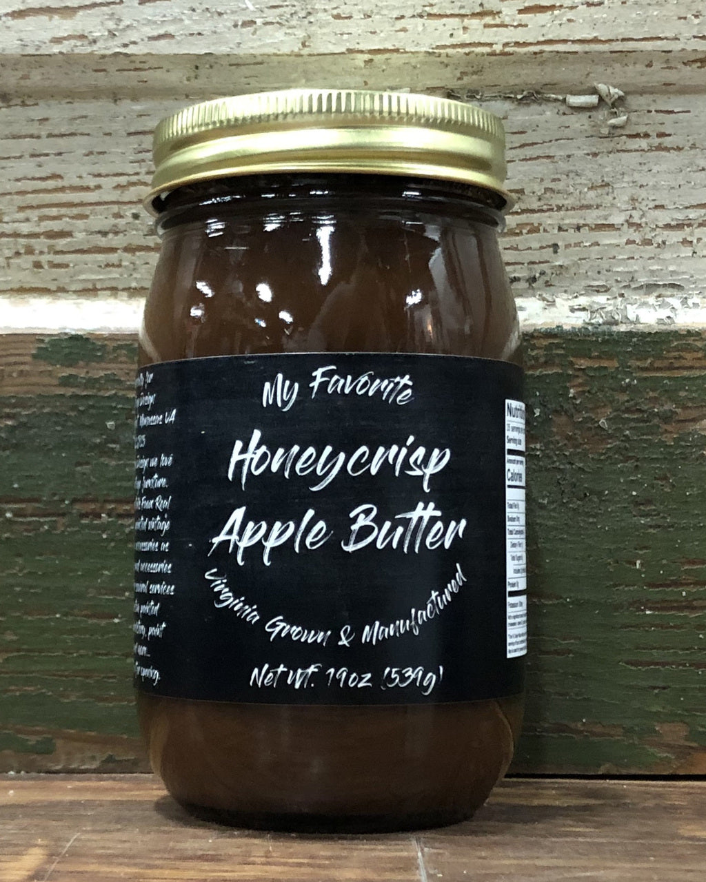 Honey Crisp Apple Butter