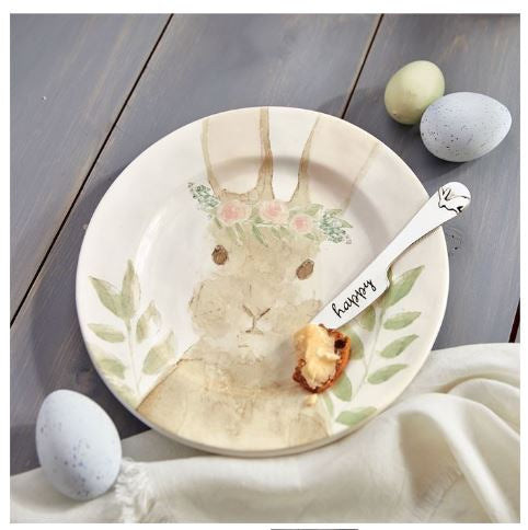 Watercolor Bunny Cheese Set*