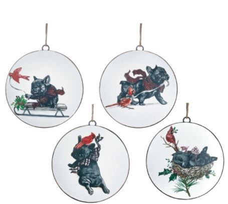 Benson and Bartholomew Disc Ornament