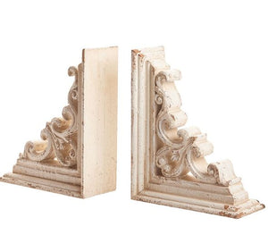 DISTRESSED CORBEL BOOKEND