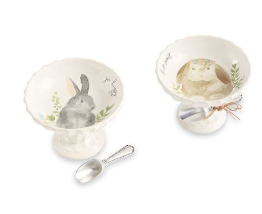 Watercolor Bunny Pedestal Sets