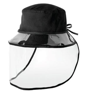 PPE Black Bucket with Shield