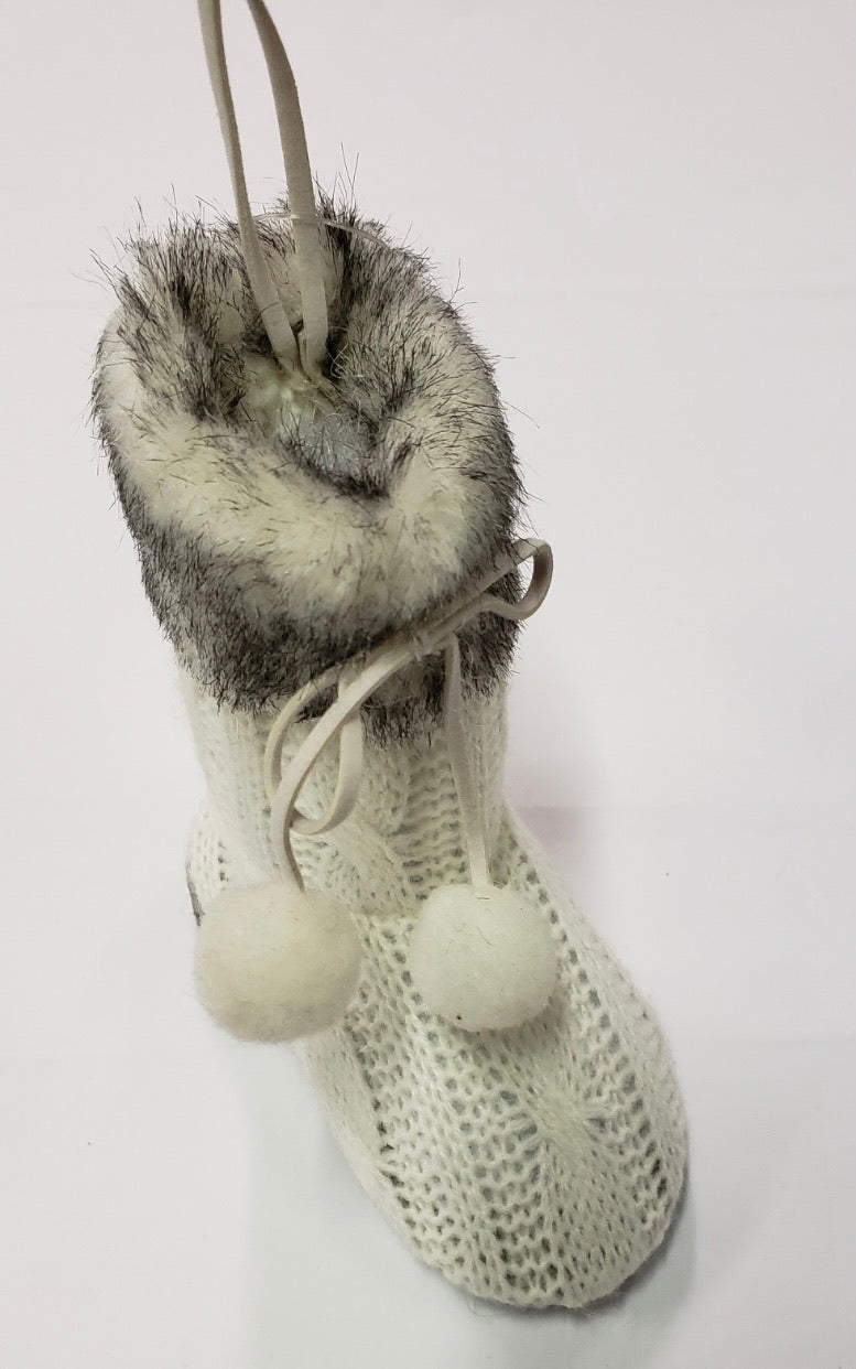 Sweater Boot Ornament