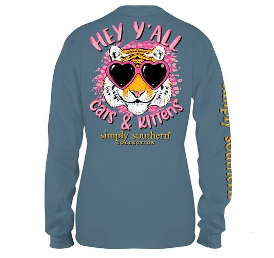 Kitten Long Sleeve Kitten Tee