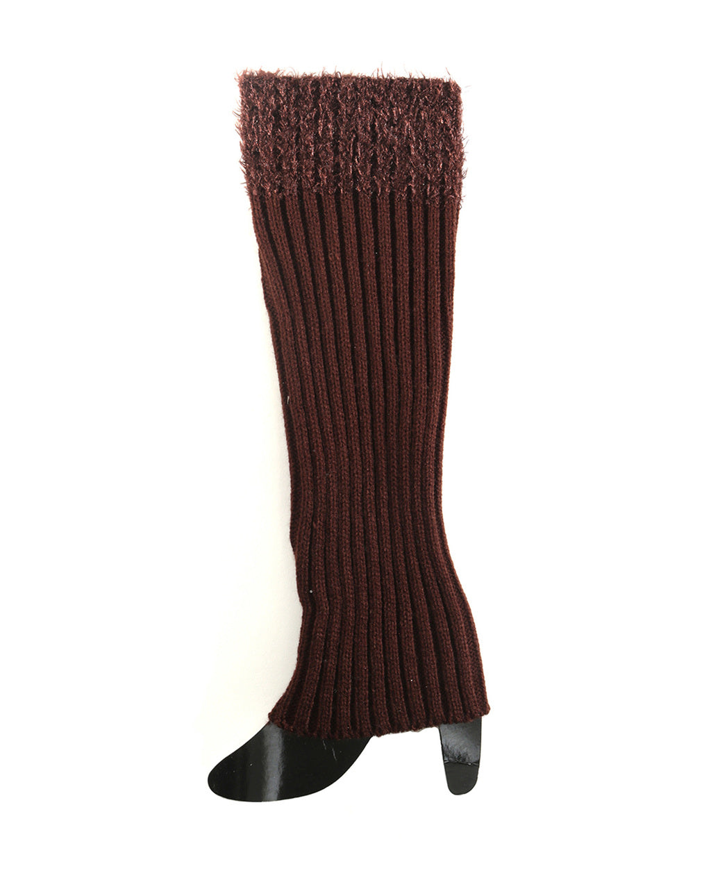 BROWN BOOT CUFFS (TALL)