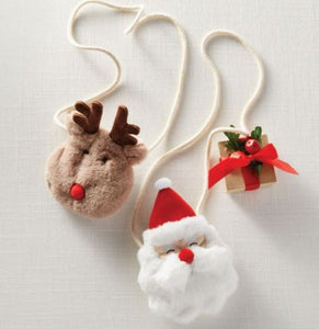 Christmas Plush Purses