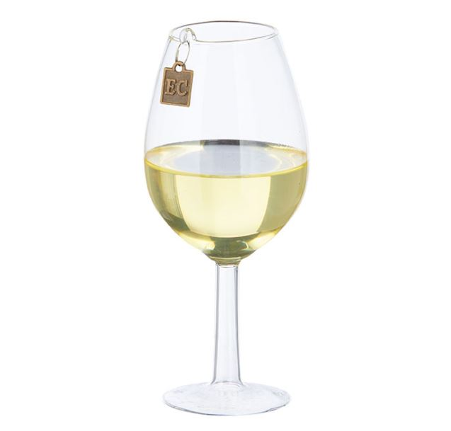 White Wine Wishes Ornament*