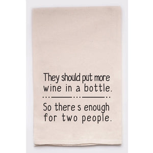 Wine Better Dish Towel