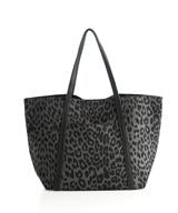 Load image into Gallery viewer, Tori Carryall, Grey Leopard