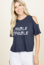"Load image into Gallery viewer, Bobbi Top ""Double Trouble"""