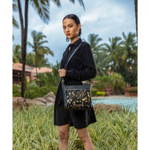 Load image into Gallery viewer, Myra Ziggy Leather and Hairon Bag