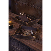 Load image into Gallery viewer, Myra Leather Tray