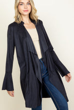 Load image into Gallery viewer, Mason Suede Cardigan Jacket