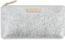 Load image into Gallery viewer, Katie Loxton Marcie Slim Pouch: Metallic Silver