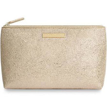 Load image into Gallery viewer, Katie Loxton Mia Make-up Bag: Metallic Gold