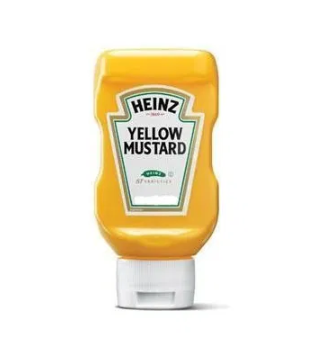 bvi>Heinz, Yellow Mustard 12.75 oz (361 g)