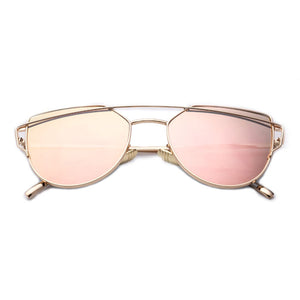 Gentle Monster Love Punch Cat Eye Metal Frame Sunglasses-Splash Colours