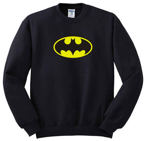BATMAN Black Sweatshirt